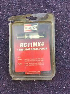 Champion Spark plug RC11MX4 for corolla or holden Vermont South Whitehorse Area Preview