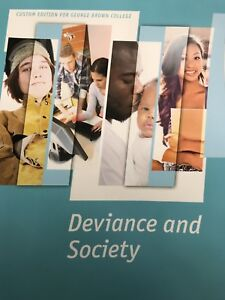 Deviance and Society George Brown textbook