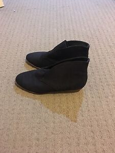 Witchery black suede / leather ankle boots 36 Belmont Belmont Area Preview