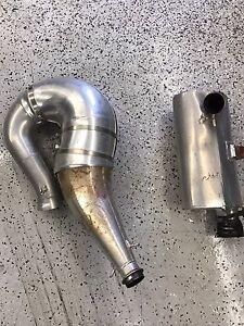 Slp single pipe set 2011-2012 polaris pro rmk