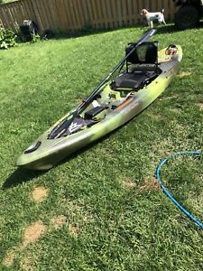 Perception 12 foot kayak Pescador pro