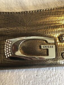 Women's Authentic Guess clutch