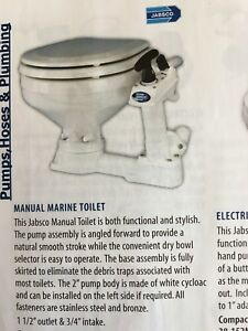 New Marine Toilet