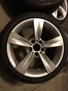 """18"""" BMW 3 series OEM staggered wheels"""