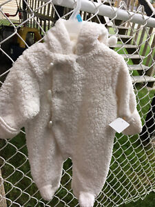 0-3  and 3-6m baby snowsuits