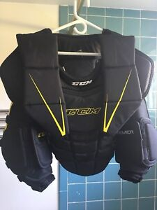 CCM Premier goalie chest Junior LG/XL -Plastron gardien jr