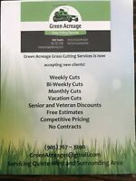 Green Acreage Grass Cutting Services