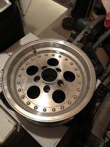 15x7 aluminum rims