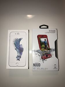 iPhone 6s 64GB Silver *excellent condition*