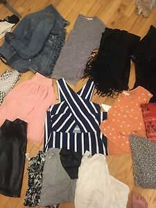 Huge haul of brand name clothes!!!