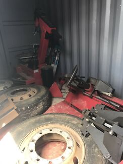 Tyre Fitting container workshop