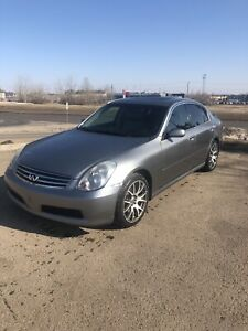 2006 Infiniti G35. REV UP Edition. 6 speed- RWD