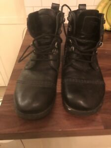 Men's Leather Boots.  Size 12