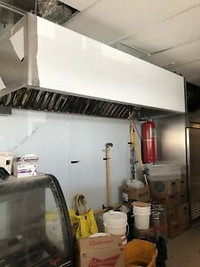 HOOD , DUCT AND MOTOR INSTALLATION