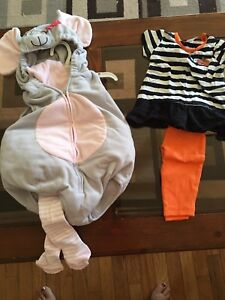 6-9 month Mouse Costume and Halloween Outfit