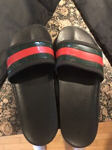 Gucci sandals with box size 11