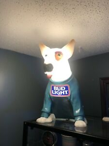 Vintage bud light dog