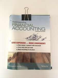 Financial Accounting Loose Leaf Textbook Canadian Edition