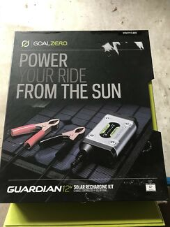 Goal Zero Guardian 12v solar recharging kit with Nomad 13 solar panel  Logan Village Logan Area Preview