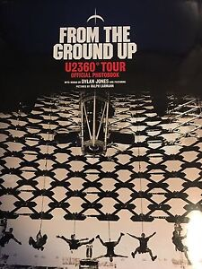 From The Ground Up U2 360 Degree Tour Official Photobook Pearce Woden Valley Preview