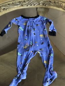 TWO Carter's sleepers for INFANT boys 3mos.