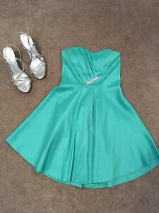 Beautiful Graduation Dress and Shoes