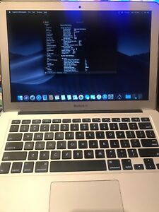 MacBook Air fin 2014, Intel core I7 1.7ghz, 128GB SSD, 8GB