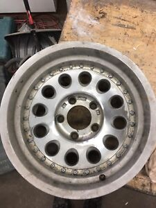 16 aluminum inch Rims off of a full size Caddy or Caprice