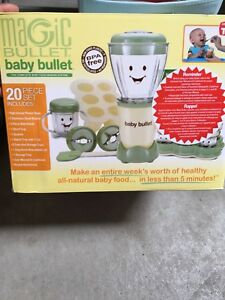 Magic Baby Bullet with storage trays  EXCELLENT CONDITION