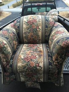Chair and loveseat **can deliver**