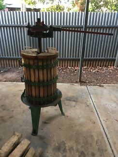 Grape wine press