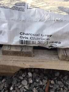 Charcoal grey architectural shingles