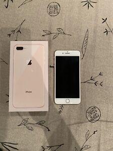 iPhone 8 Plus ROSE GOLD 64gb 9.5/10 Condition