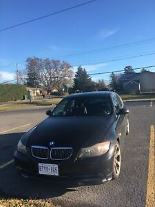 2006 BMW 330i for 7000$/bitcoin OBO w/ winter tires.
