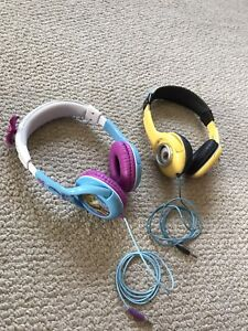 Kids headphones, like new $15 for both