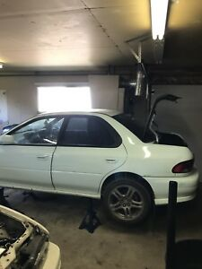 1997 Subaru STi parts car