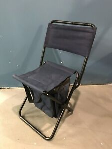 Small camping chair with bag