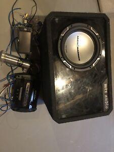 MTX sound system with jvc deck