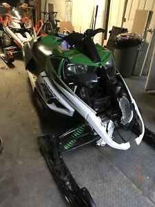 2008 Arctic Cat F6 Green Part Out