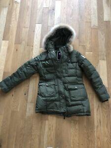 Manteau femme Pajar large