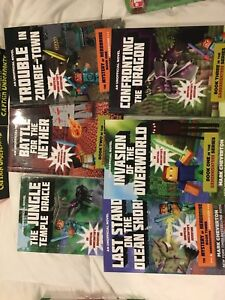 Large Lot of Minecraft books