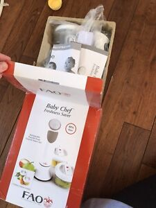 Baby Chef Freshness Saver NEW never used