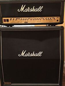 Marshall 30th anniversary 6100 Head and 1960A made in England !!