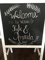 Wedding signs for rent / wedding decor rental