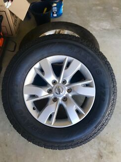 Nissan Patrol wheels and tyres