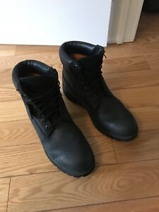 Black timberland boot size 12