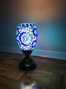 Hand crafted decorative lamp