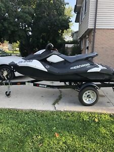 2017 Seadoo Spark 3up with Trailer