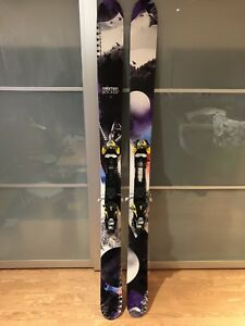 Ski salomon rocker2 122 fixation atomic tracker 16 débrayable