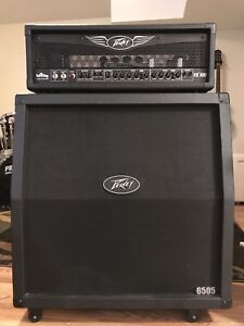 Peavey ValveKing VK100 Head and Peavey 6505 Cabinet for Sale